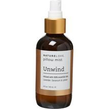 New NATURE LOVE Unwind Pillow Spray Mist Lavender Geranium Lemon Aromath... - $21.77