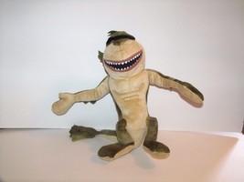 "Toy Factory Dreamworks Monsters vs Aliens Plush MISSING LINK 12"" Green Tan - $4.90"