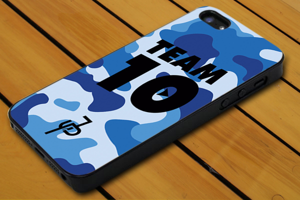 Jake Paul Team 10 Blue Military IPhone 4 5c 5s SE 6 6+ 7 7+ Samsung LG Ipod Case for sale  USA