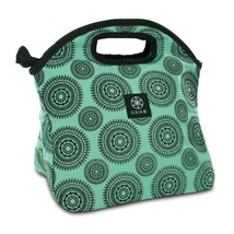 Lunch Bag For Women, Waterproof Reusable Teal Marrakesh Tote Lunch Bag F... - $17.99