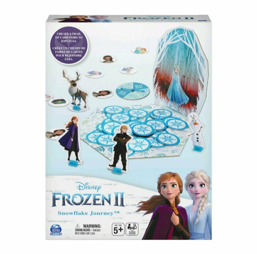 Primary image for NEW SEALED Disney Frozen II Snowflake Journey Board Game