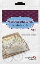 3L Scrapbook Adhesives Keepsake Envelopes, Mixed 10pk, Clear (Mixed 10pk) - $13.34