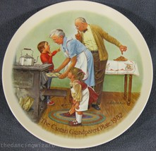The Cookie Tasting Joseph Csatari Grandparent Collector Plate 1982 COA V... - $19.95