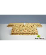 EcoQuote Long Wallet 1 Zip Sq. Design Button Handmade Cork Eco Friendly ... - $31.00+