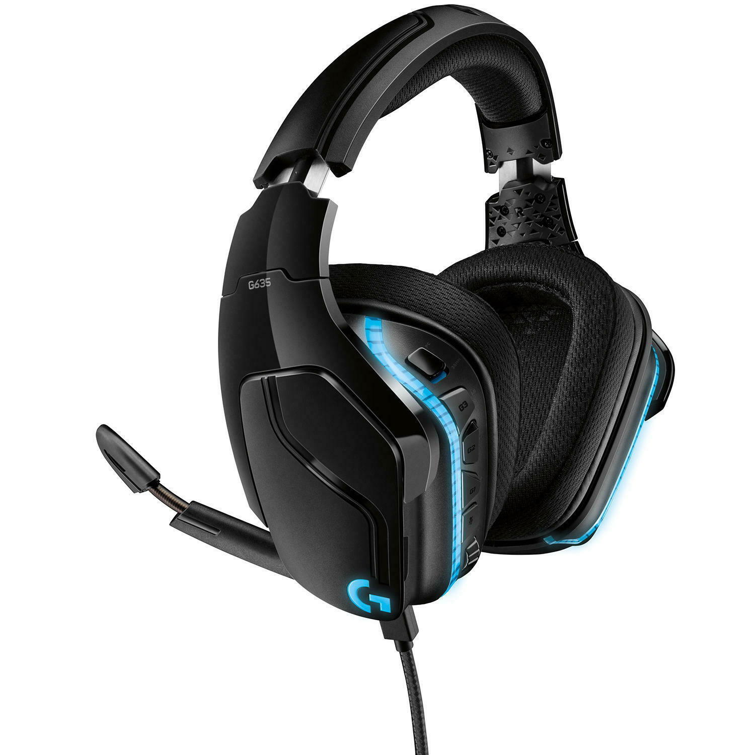 Primary image for Logitech G635 DTS, X 7.1 Surround Sound LIGHTSYNC RGB PC Gaming Headset