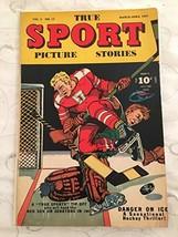True Sport Picture Stories Vol. 3#12 1947-Hockey-Bob Hockey Cover-VG - $59.35