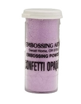 Embossing Arts Confetti Opaques Embossing Powder, Lightly Lavender