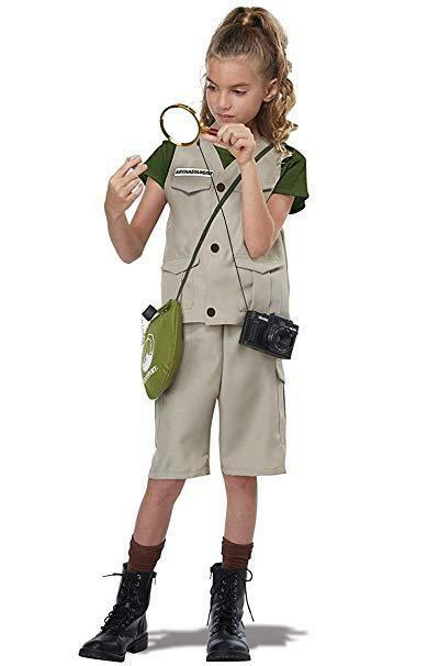 California Costumes Wild Life Expert Archaeologist Child Halloween Costume 00595