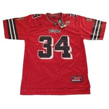 Colosseum Maryland Terrapins 34 Football Jersey Mens Size M Red NCAA Terps - $44.52