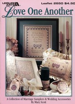 Love One Another Marriage Samplers Wedding Accessories Cross Stitch Patt... - $2.67