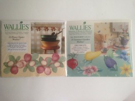Wallies Wallpaper Cutouts Pfaltzgraff Summer Garden Or Plum Cluster 25 Ct. - $5.99