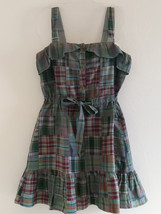 Juicy Couture Green Plaid Dress - $22.50