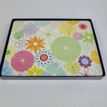 Set of 4 PIMPERNEL CORK Place mats Spring Summer Floral Made in England  - $29.69