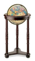 Replogle Lancaster Illuminated 12 Inch Floor World Globe, Antique - $329.67
