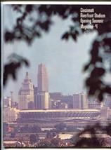 Cincinnati Riverfront Stadium Opening Program 1970 REDS - $50.44