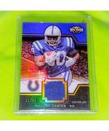 NFL DELONE CARTER INDIANAPOLIS COLTS 2011 TOPPS TRIPLE THREADS JERSEY S ... - £2.69 GBP