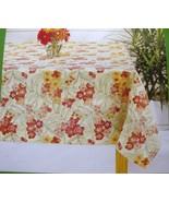 "New Summer Living Indoor/Outdoor Weather Resistant Tablecloth 70""X90"" - $35.63"