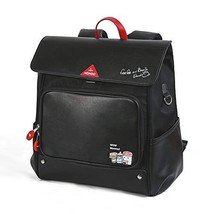 NOHOO Diaper Bag Backpack Baby Bag Nappy Bag Travel Backpack for Women Black