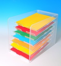 Paper Tray Display | Desktop Paper Organizer | ... - $92.87