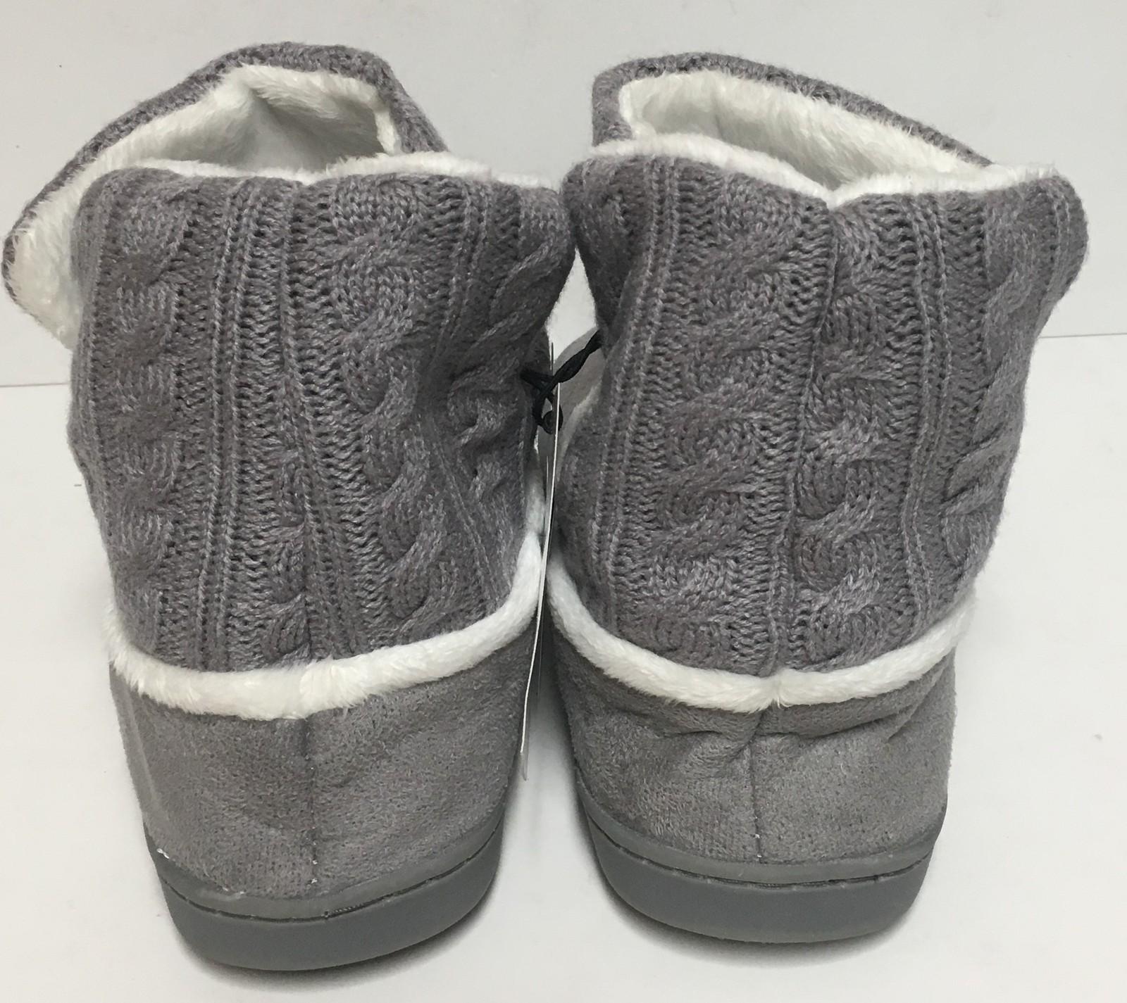 Auburn University Fur Knit Boots AU Logo Women's Many Sizes image 6