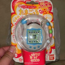 Bandai Super Life Enjoy Tamagotchi Plus limited Pearl white & blue E31 J... - $99.99
