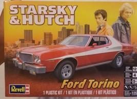 Starsky And Hutch Revell Plastic Model Kit Ford Torino 1:25 Scale NEW NIP - $23.51