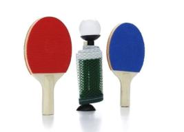 NPW Fun Desktop Mini Table Tennis Ping Pong Set Office Gag Novelty Gift NEW image 3