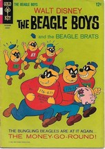 Walt Disney The Beagle Boys Comic Book #3 Gold Key 1966 FINE - $9.74