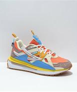 Neu FILA Sandenal Staubig Orange Blau Gold Schuhe - $119.91