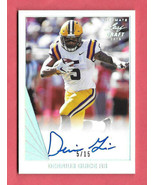 2018 Derrius Guice Leaf Ultimate Draft Rookie Auto 5/15 - Washington Red... - $47.49