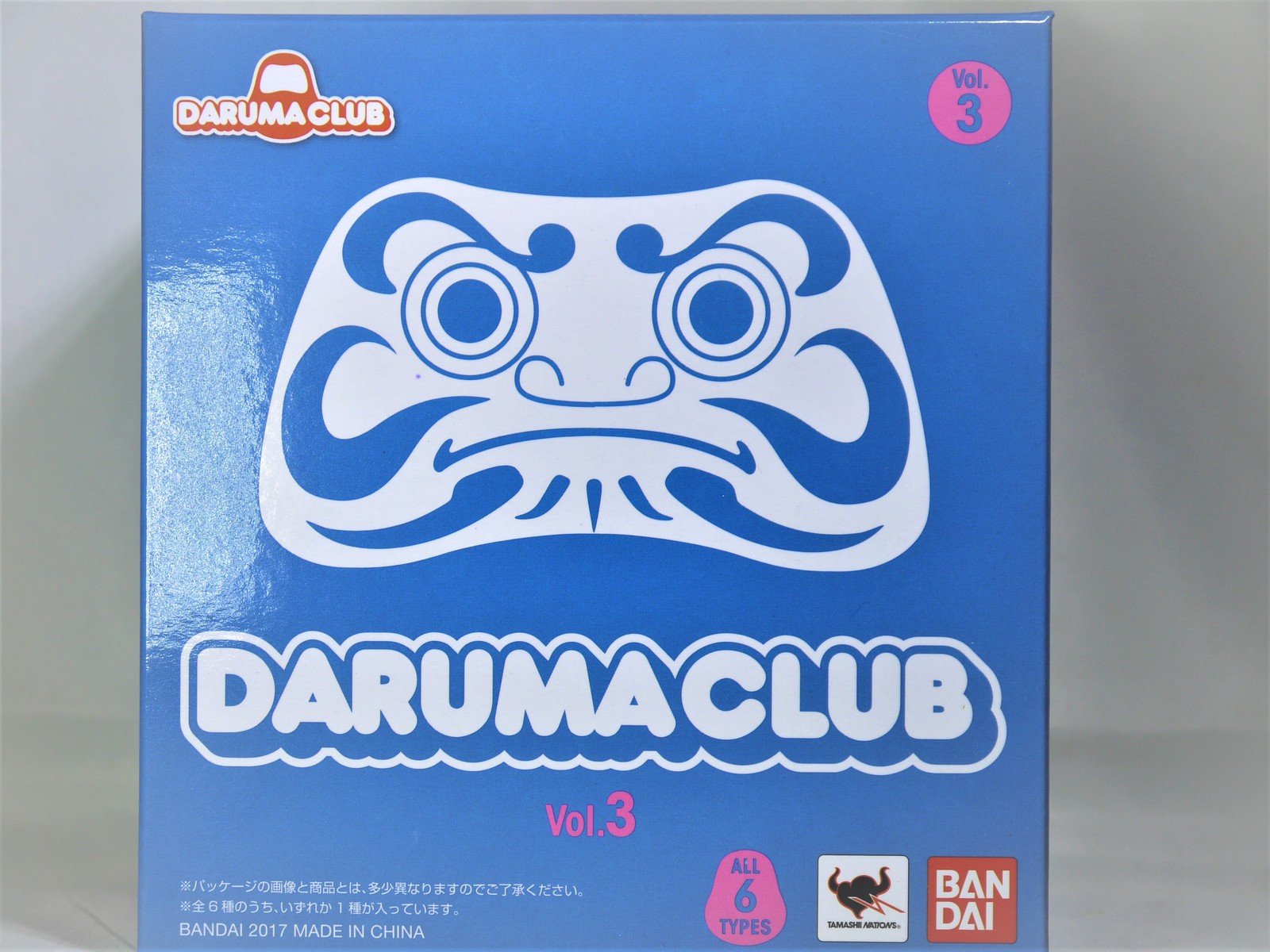 BANDAI DARUMA CLUB Volume 3 NINJA DARUMA FIGURE BLACK