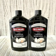 2 Weiman Instant Tarnish Remover Cleaner Jewelry Copper Metal 16 oz (473ml) Each - $43.56