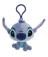 Disney Parks Stitch Plush Keychain Key Chain Purse Hanger NEW - €18,36 EUR