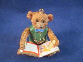 Carlton Cards Once Upon A Time Teddy Bear 100 Years Ornament Original Box - $20.00