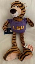LSU Tigers Tiger Plush Pullable Arms & Legs Louisiana State University w... - $15.83