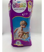 DG Baby Disposable Swim Pants Swimming Diapers Sz M 24-34lbs 11 Count Pack - $11.48