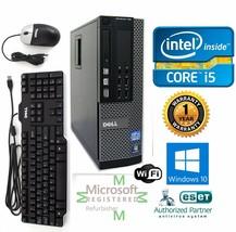 Dell 9010 SFF Computer Intel Core i5 3.40 Windows 10 pro 64 4gb 1TB Nvidia 410 - $398.84