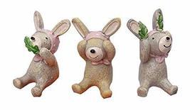 PANDA SUPERSTORE Set of 3 Creative Animal Decoration Kids,1.6''