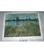 "1945 Claude Monet 33"" X 26"" Banks Of The Seine, Vetheuil Art Print - $14.83"