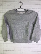 The Childrens Place Gray Pullover Sweater Long Sleeve Top Girls Size Small 5-6 - $16.82