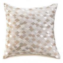 Diamond Silver Gold Large Throw Pillow - $18.99