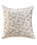 Diamond Silver Gold Large Throw Pillow - $18.04