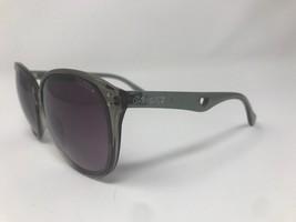 Coach S3008 Brown Oversize Sunglasses Black Translucent Grey 60-15-135 CE79 - $56.09