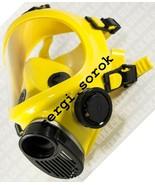 Full Face Worker Yellow Facepiece GENUINE Gas Mask Respirator GP-9 BRIZ ... - $60.00
