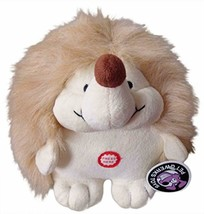 Pet Qwerks Plush Hedgehog Interactive Dog Toy with Cute Chattering Elect... - $10.74 CAD