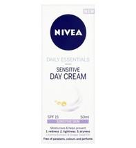 NIVEA Daily Essentials Sensitive Day Cream SPF 15 50ml - $15.78