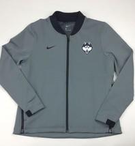 Nike UCONN Huskies Basketball Full Zip Jacket Women's Medium Grey AT5415 - $32.17