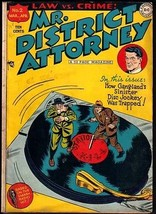 MR. DISTRICT ATTORNEY #2-GANGSTERS ON TURNTABLE COVER VG - $132.41