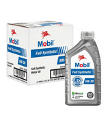 NEW Mobil Full Synthetic Motor Oil, 1-Quart/6-pack **FREE SHIPPING** - $37.99