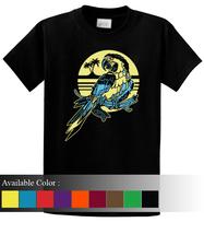 Tropical Parrot Funny Men's T-Shirt Size S-3xl - $19.00